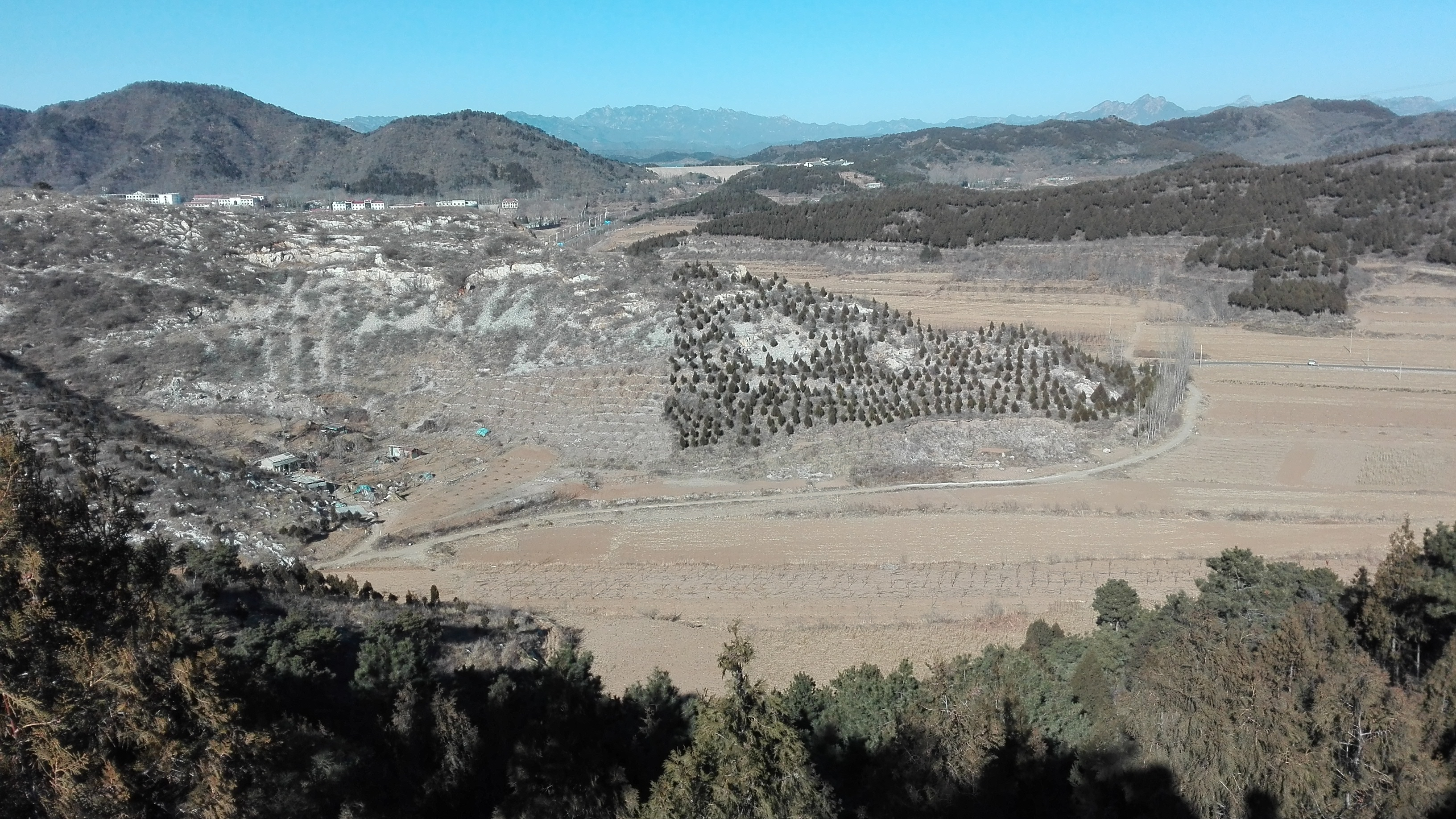 2018-01-24_Miyun_afforestation_hillside