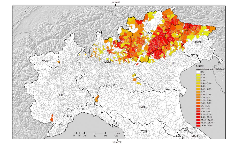 VAIA maps